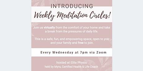 Weekly Meditation Circles tickets