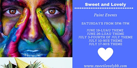 Paint and Sip Events tickets