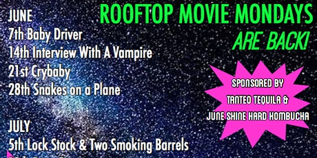 Rooftop Movie Monday: SNAKES ON A PLANE tickets