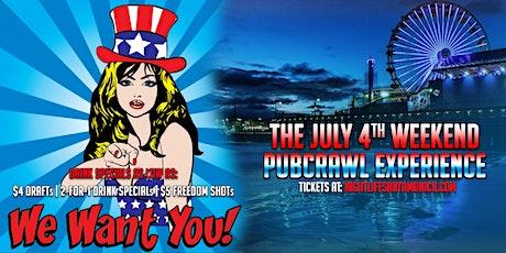 Santa Monica July 4th Weekend Pubcrawl - Saturday tickets