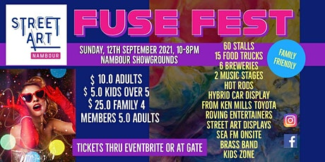 Fuse Fest - Street Art Nambour tickets