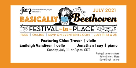 Basically Beethoven Festival-in-Place: July 11 entradas