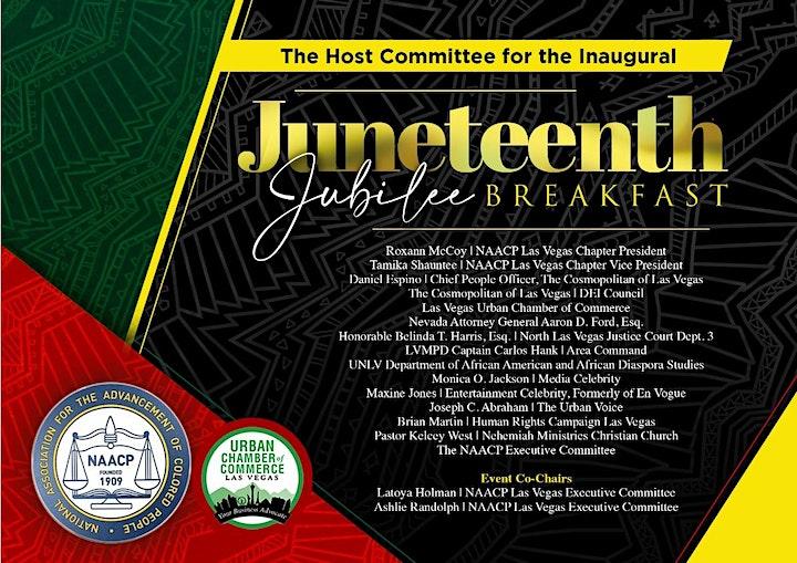 1st Annual Jubilee Juneteenth Breakfast image
