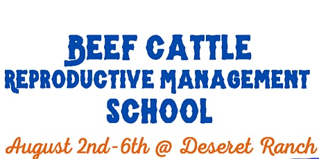 Beef Cattle Reproductions Management School with Artificial Insemination tickets