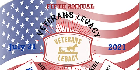 FIFTH ANNUAL - VETERANS LEGACY - MOTORCYCLE POKER RIDE tickets
