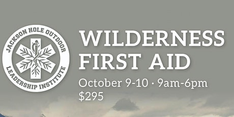Wilderness First Aid tickets