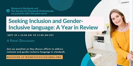 Seeking Inclusion and Gender-Inclusive language: A Year in Review tickets