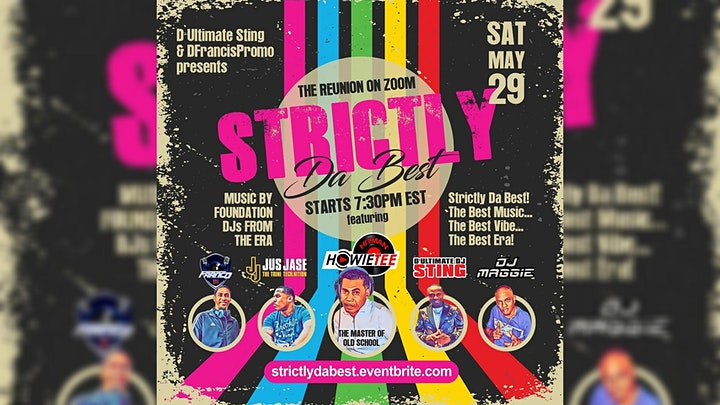 STRICTLY DA BEST  EP-2 - THE OLD SKOOL REUNION ZOOM PARTY image