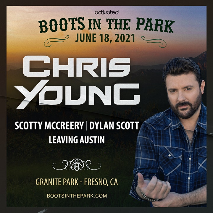 Chris Young & Friends presented by Boots in the Park Tickets, Fri, Jun 18,  2021 at 4:00 PM | Eventbrite