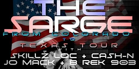 THE SARGE : FROM COLORADO TO TEXAS TOUR (COLORADO SPRINGS C0) tickets