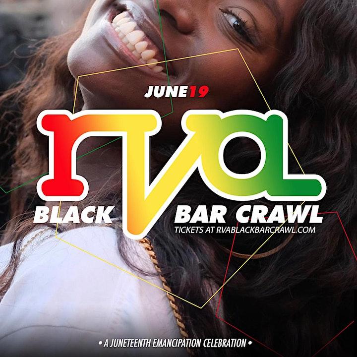 RVA Black Bar Crawl 2021: A Juneteenth Celebration image