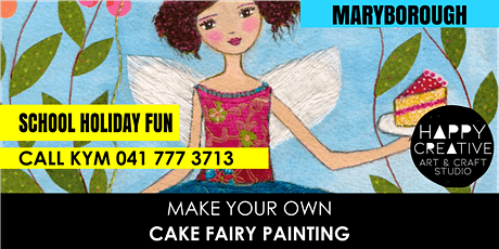 Cake Fairy Painting tickets