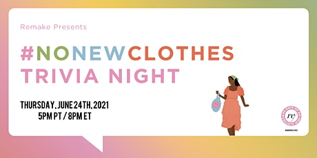 #NoNewClothes Trivia Night tickets