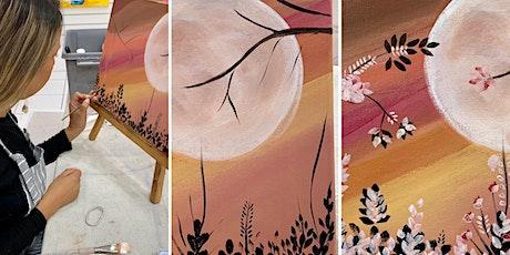 Sip & Paint  Summer Night - Acrylic tickets