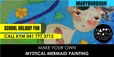 Mystical Mermaid Painting tickets