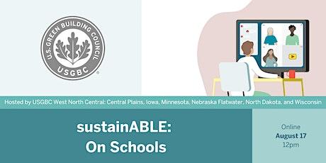 sustainABLE: On Schools tickets