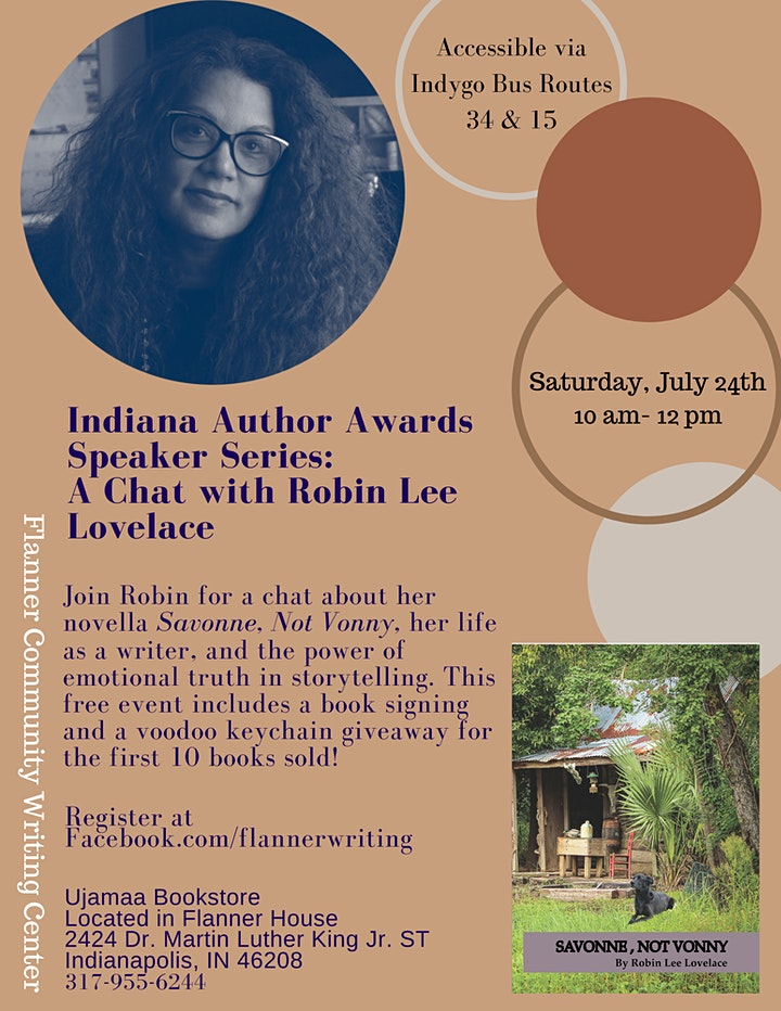 Indiana Author Awards Speaker Series: A Chat with Robin Lee Lovelace image