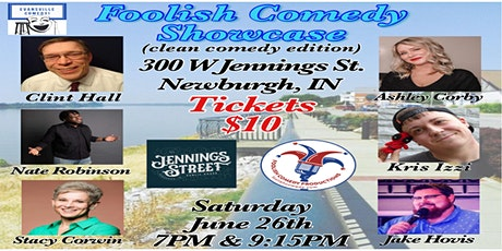 Foolish Comedy Showcase (June) tickets