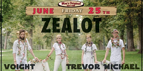 Zealot w/ Voight + Trevor Michael tickets