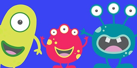 School Holiday Activity - Amazing Monster Arts & Crafts tickets