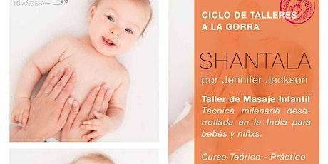 SHANTALA - Masaje infantil - entradas