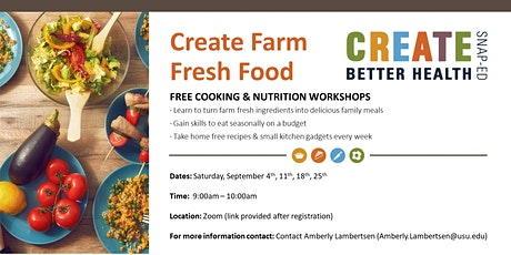 Create Farm Fresh Food - September tickets