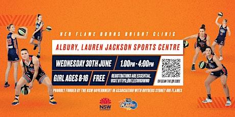 Brydens Sydney Uni Flames Girls  Basketball Clinic - Albury tickets