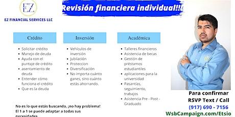 Revisión financiera individual boletos