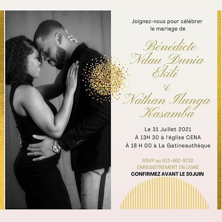 Image de Mariage de Bénédicte Ekili et Nathan Ilunga