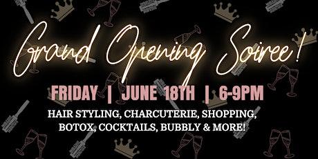 Grand Opening Soirée: Sip, Shop & Celebrate tickets