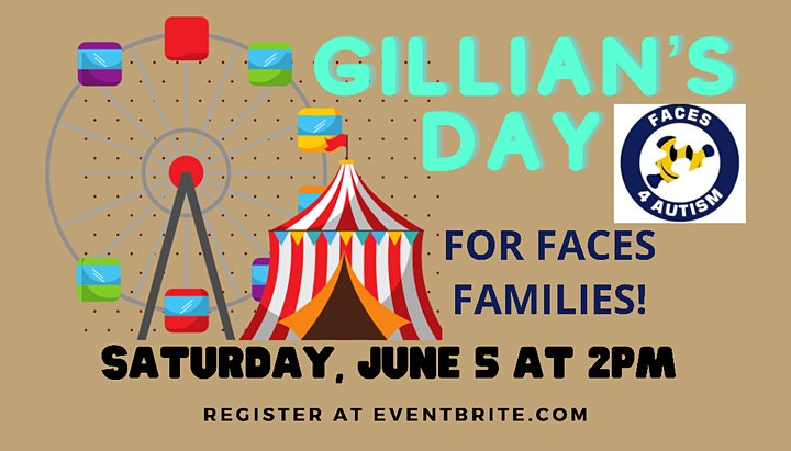Gillian's Day for FACES 4 Autism 2021 image