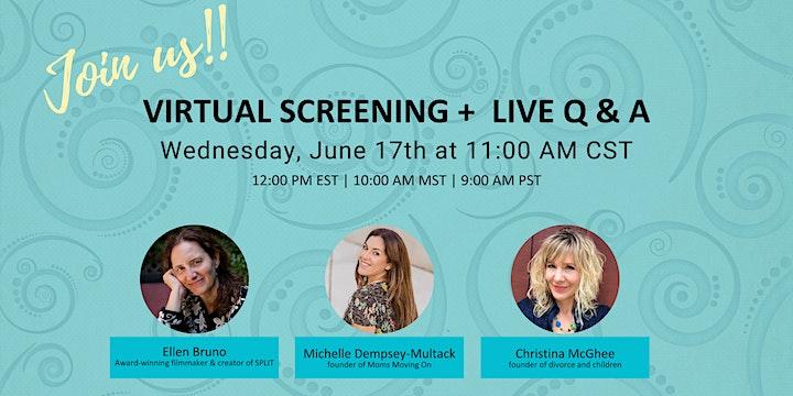 Split Virtual Screening + Live Q&A image