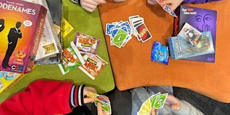 Board games night tickets