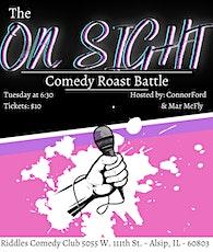 On Sight Comedy Roast Battle tickets