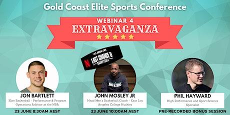 Webinar 4 Extravaganza: John Mosley Jr, Jon Bartlett and Phil Hayward biglietti