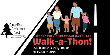 Operation Christmas Card Walk-a-thon tickets