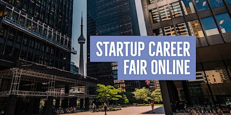 Startup Job Fair Online: Company Registration billets