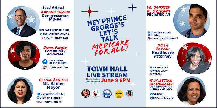 Hey Prince George's, Let's Talk Medicare For All image