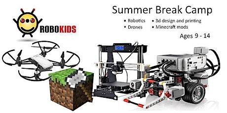 Senior Summer Camp Week 9 Drone Coding + Minecraft Modding  AUG 23- AUG27 tickets