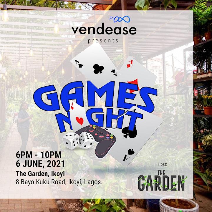 Vendease Games Night - June image
