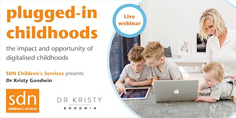 Webinar: Plugged-in childhoods tickets