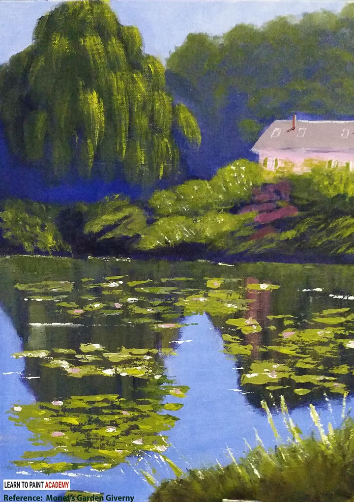Introductory Offer! Online Adults Acrylic Painting Workshop for Beginners image