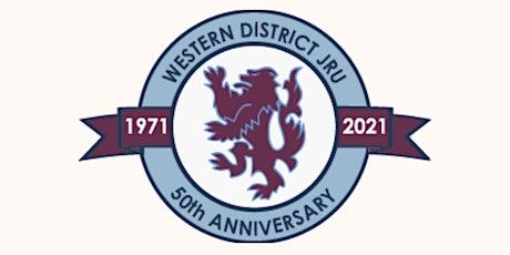 Western District  Junior Rugby Club 50th Anniversary tickets