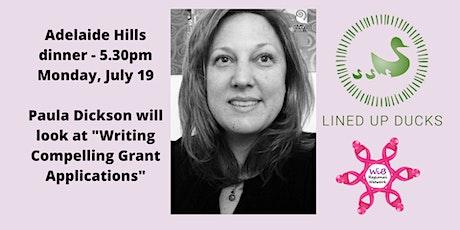 Adelaide Hills Dinner - Women in Business Regional Network -  Mon 19/7/2021 tickets