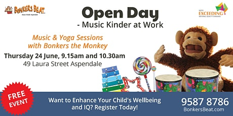 Open Day - Music Kinder at Work tickets