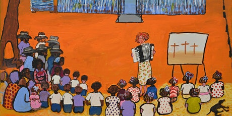My Paintings Speak For Me by Kunyi June Anne McInerney Exhibition Opening tickets