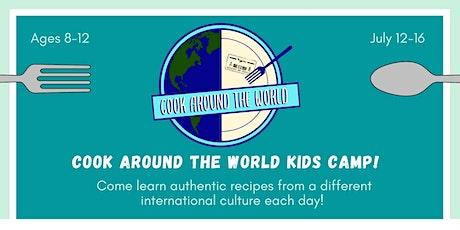 Cook Around the World Kids Summer Camp tickets
