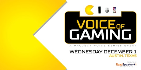 The Voice of Gaming tickets