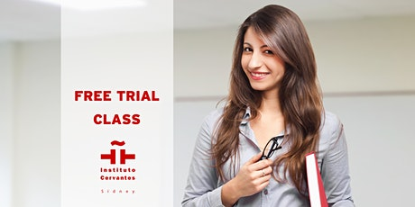 FREE FACE TO FACE  SPANISH LANGUAGE TRIAL CLASS  -WINTER TERM 2021 tickets