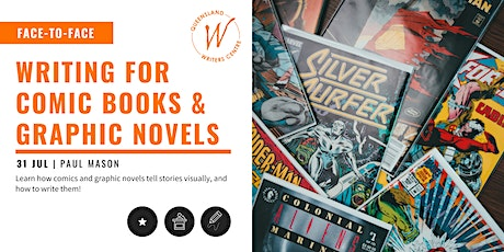 Writing for Comics & Graphic Novels with Paul Mason tickets
